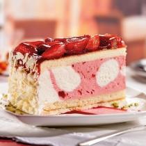 Torte-Erdbeer-Buttermilch